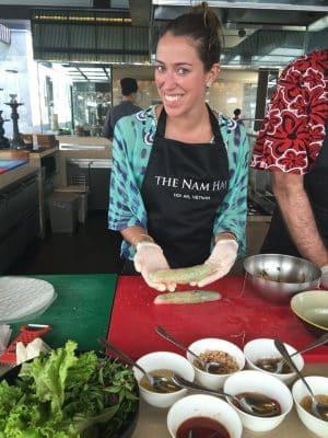 Aula de culinária no The Nam Hai, Hoi An