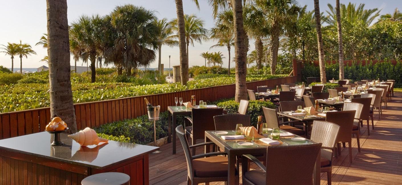 Onde comer em Miami - Ocean Grill, no Setai Hotel