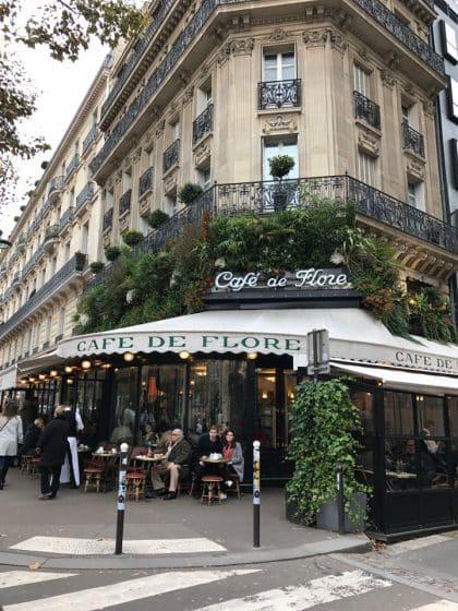 Onde comer em Paris, Café de Flore ou Les Deux Magots - França
