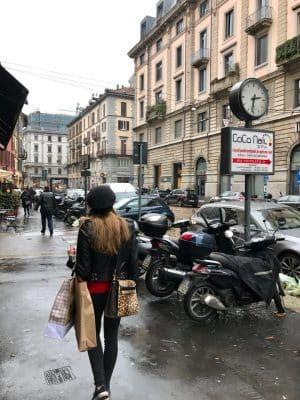 Piazza XXV di Aprile - Milão, Itália