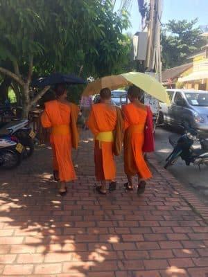 Passeio de bike em Luang Prabang - Laos
