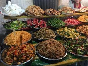 Night Market em Luang Prabang - Laos