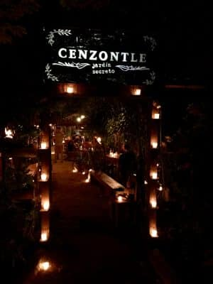 Onde comer em Tulum - Restaurante Cenzontle, México