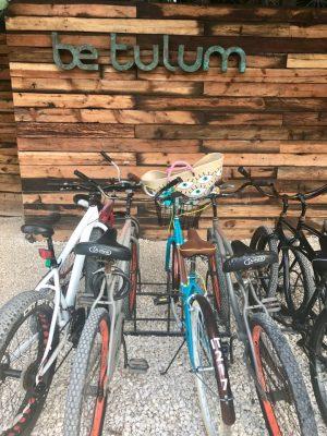 Bikes em Tulum, México