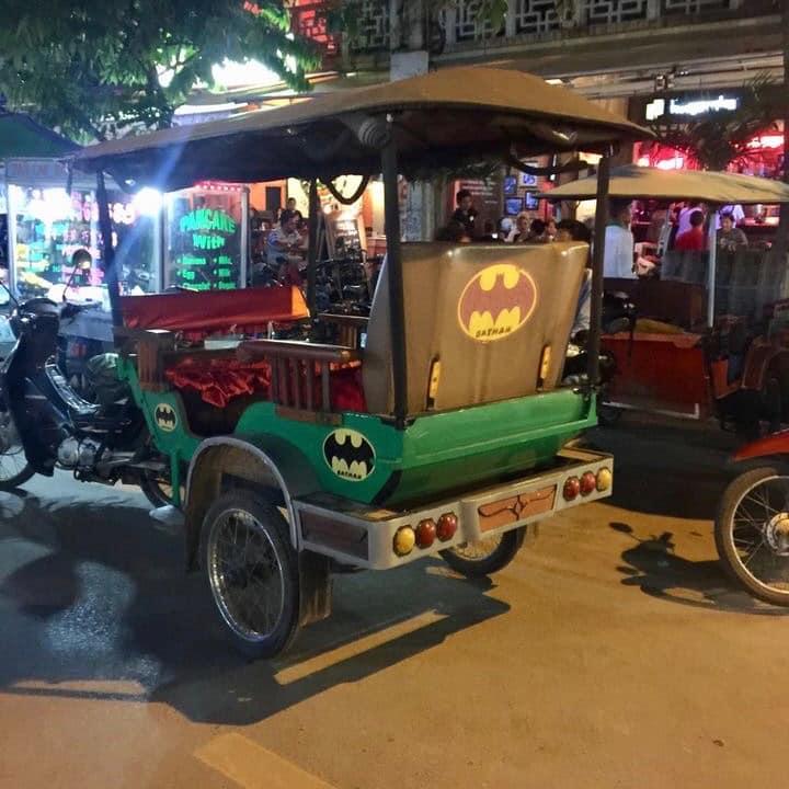 Tuk Tuk em Siem Reap, Camboja