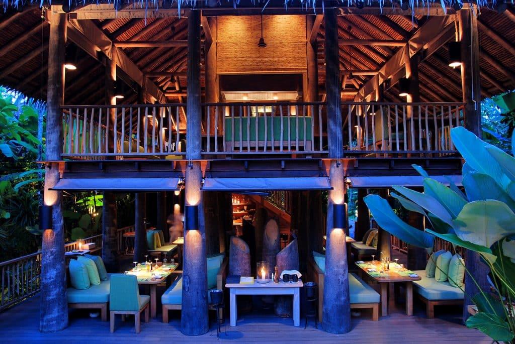 Onde comer em Yao Noi, The Living Room, Six Senses Yao Noi, Tailândia