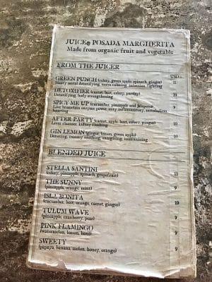 Onde comer em Tulum - Restaurante Posada Margherita, México