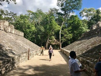 Cobá, pirâmide Nohoch Mul, México