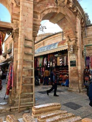 Muslim Quarter, o maior bairro muçulmano de Jerusalém