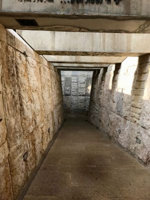 Centro Yad Vashem, em Jerusalém