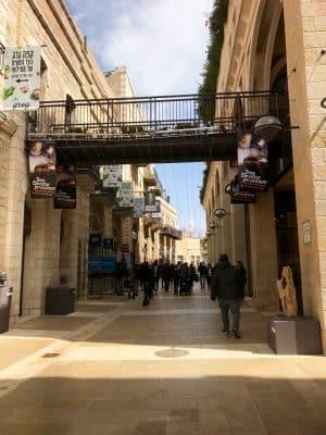 O Mamilla Mall é um complexo de lojas ao ar livre situado em Jerusalém.