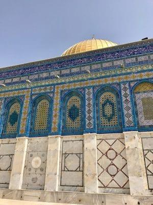 A Cúpula da Rocha, em Jerusalém