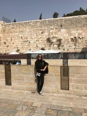Muro das Lamentações, situado em Jerusalém