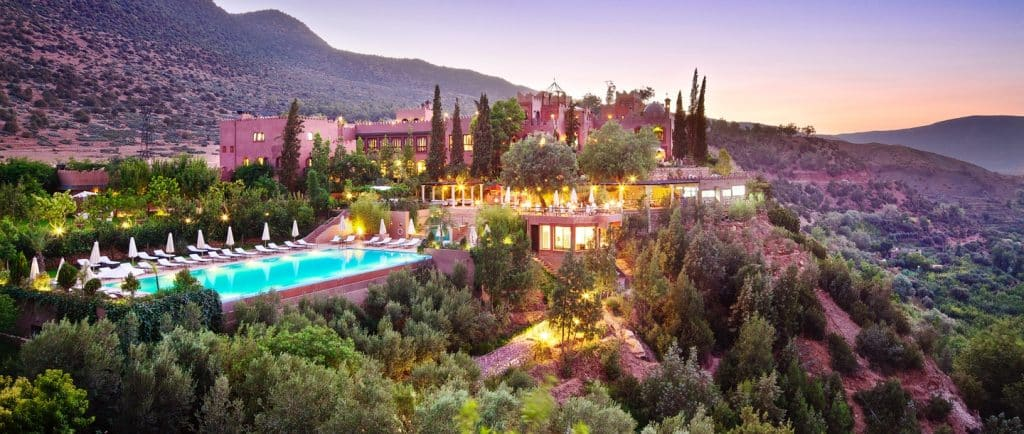 Imlil, Marrocos - Hotel Kasbah Tamadot - High Atlas Mountains