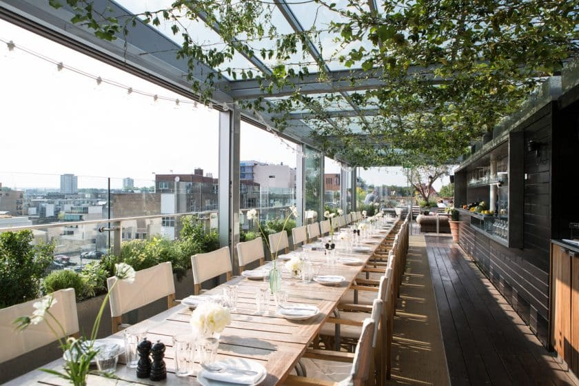 Bares e Baladas em Londres - The Boundary Rooftop