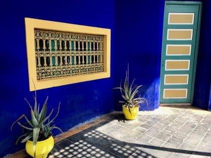 Jardin Majorelle - Marrakech. Marrocos