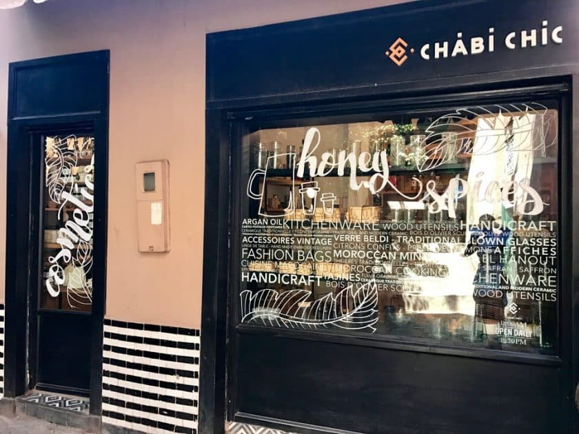 Chabi Chic - Marrakech. Marrocos