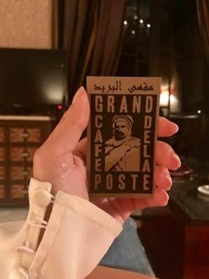 Grand Café de la Poste - Marrakech. Marrocos