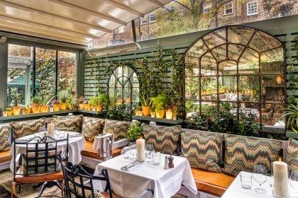 Onde Comer em Londres - The Ivy Chelsea Garden