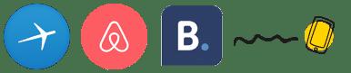 melhores apps para viagem, aplicativos, expedia, airbnb, booking.com