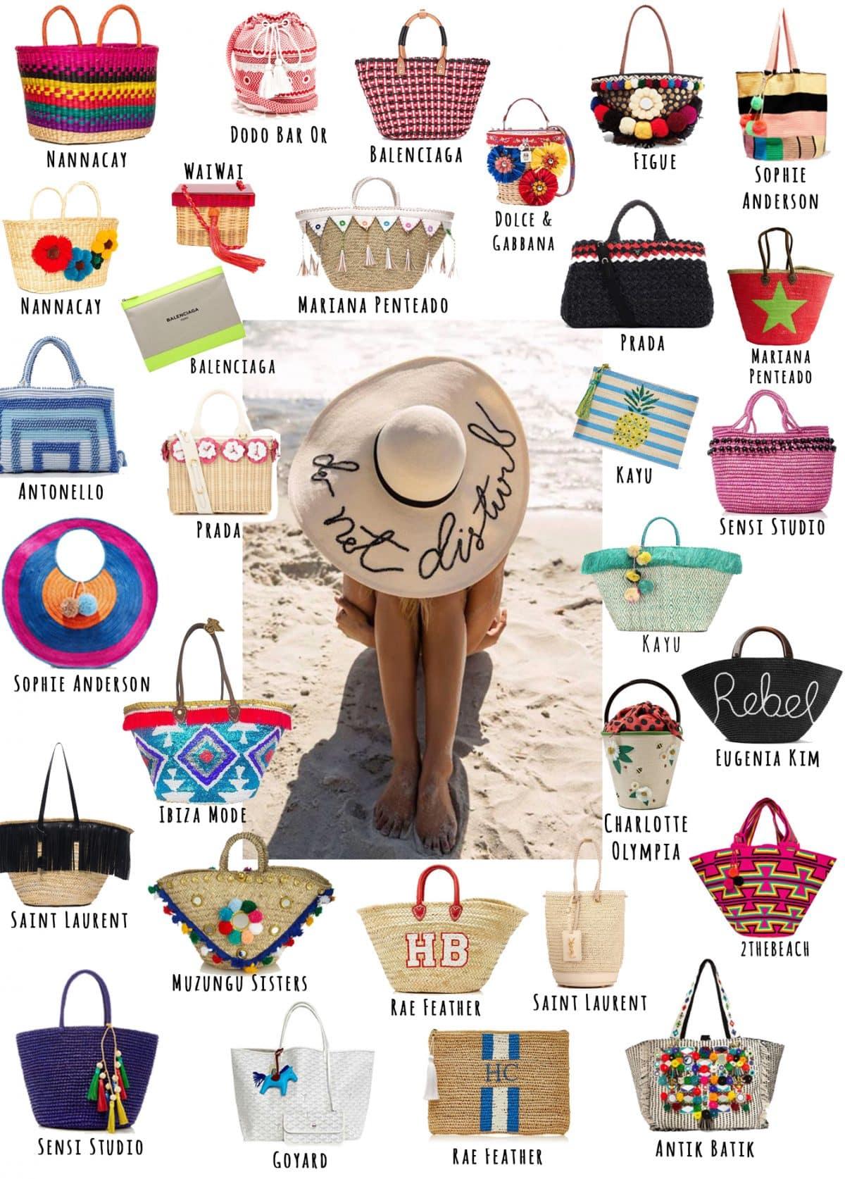 Moodboard - Bolsas de Praia