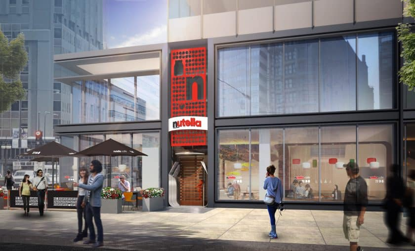 Chicago, Estados Unidos - Nutella Café
