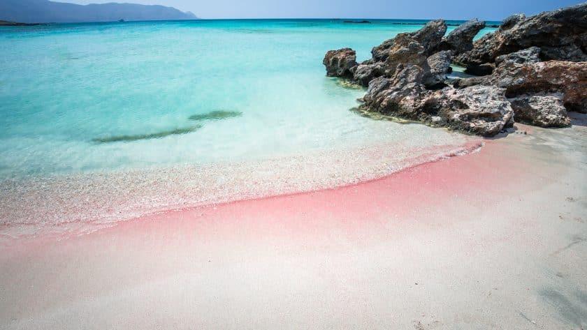 Praia de Elafonisi - Creta, Grécia