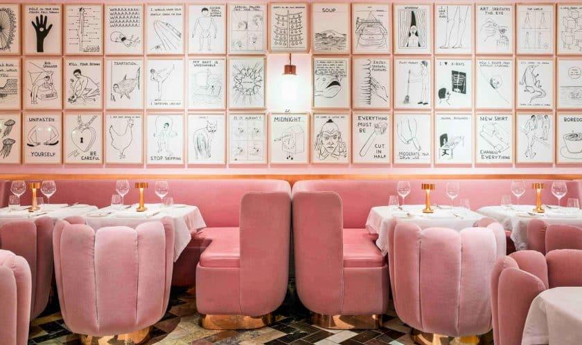 Restaurantes Cor de Rosa - Sketch