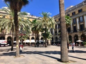 Barcelona em 36 Horas - Plaça Reial