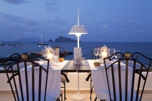 Sushi Terrace @ Lisca Bianca - Panarea, Itália