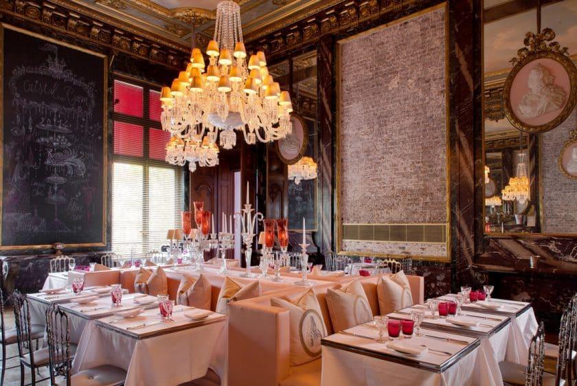 Restaurantes Cor de Rosa - Cristal Room Baccarat