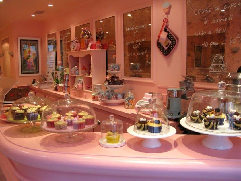 Restaurantes Cor de Rosa - Chloe's Cupcakes
