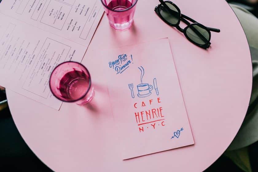 Restaurantes Cor de Rosa - Café Henrie