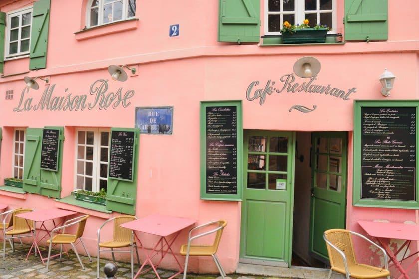 Restaurantes Cor de Rosa - La Maison Rose