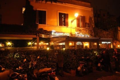 Taverna Trilussa - Roma