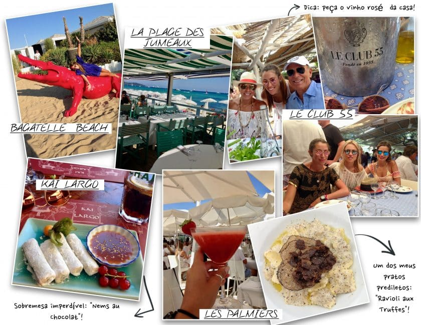 St Tropez - Beach Clubs