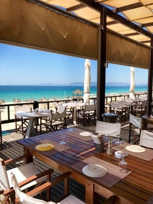Restaurante Ilha do Arroz - Praia da Comporta, Portugal