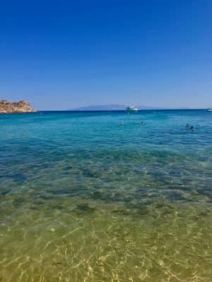 Mykonos em Julho - Kalua - Paraga Beach