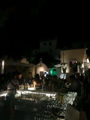 Mykonos em Julho - Restaurante Interni