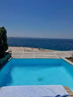Mykonos em Julho - Cavo Tagoo Hotel