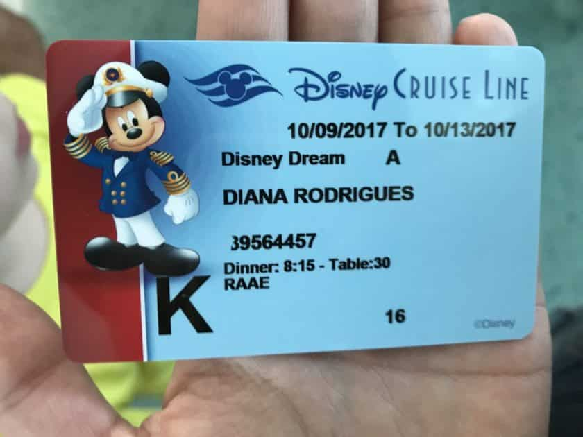 Disney Dream - Key to the World Card