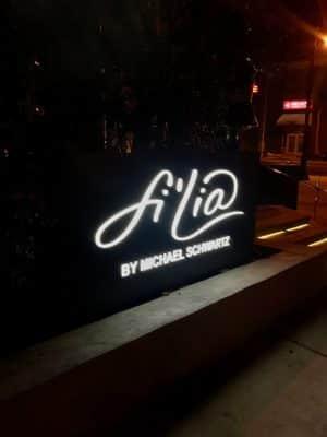 Onde Comer em Miami - Fi'lia by Michael Schwartz - SLS Brickell