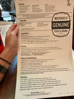 Onde Comer em Miami - Michael's Genuine - Design District