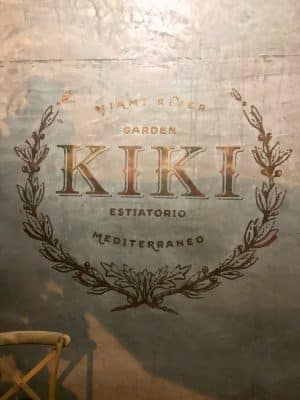 Onde Comer em Miami - Kiki on the River - Miami River